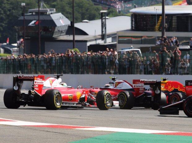 Sebastian Vettel, Kimi Räikkönen