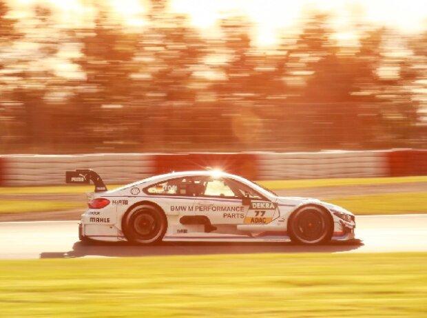 Martin Tomczyk in seinem BMW M4 DTM des BMW Team Schnitzer auf dem Nürburgring