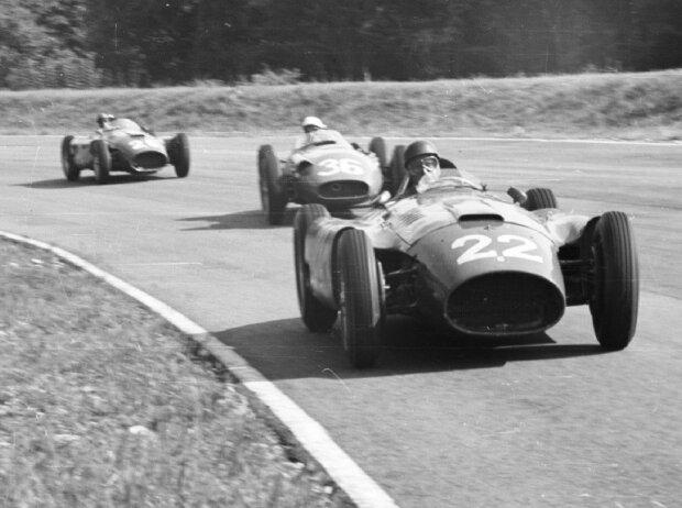 Juan Manuel Fangio, Stirling Moss, Peter Collins