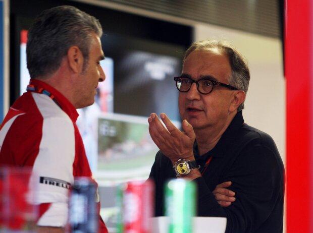 Maurizio Arrivabene, Sergio Marchionne