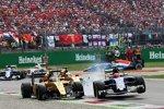 Jolyon Palmer (Renault) und Felipe Nasr (Sauber)