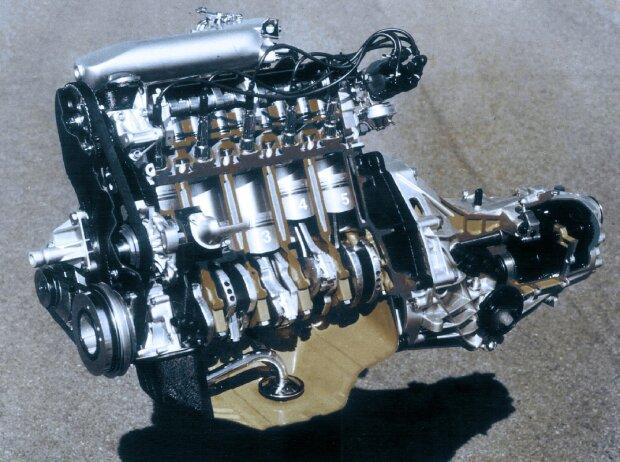 Fünfzylinder-Benzinmotors von Audi von 1976