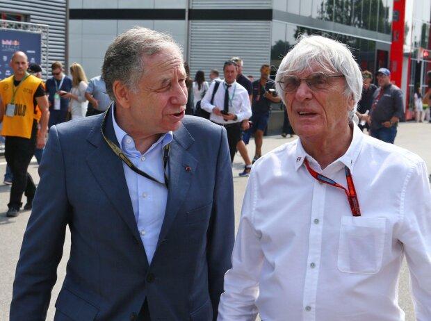 Jean Todt, Bernie Ecclestone