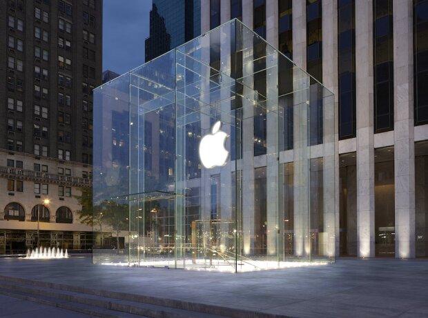 Apple-Store mit Logo