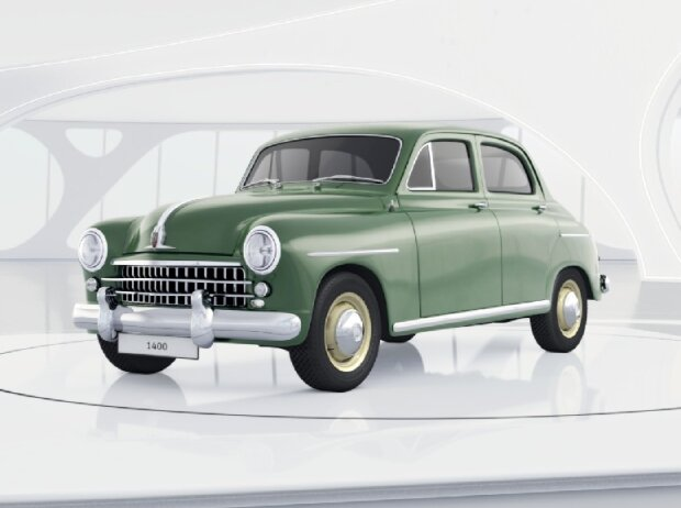Seat Digital Museum: Virtueller Seat 1400 (1953)