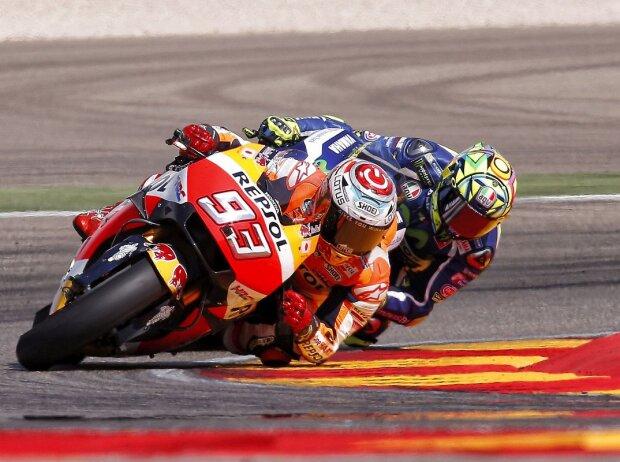 Marc Marquez, Valentino Rossi