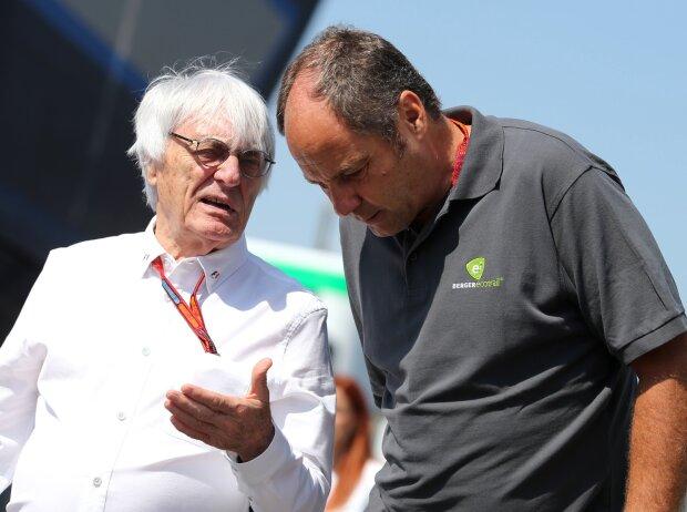 Bernie Ecclestone, Gerhard Berger
