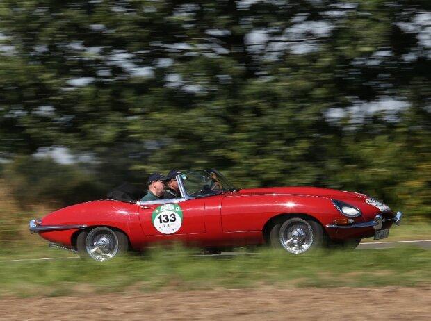 Hamburg-Berlin-Klassik 2016: Jaguar E-Type (1961)