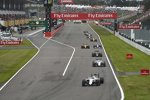 Valtteri Bottas (Williams), Felipe Massa (Williams), Fernando Alonso (McLaren), Jolyon Palmer (Renault) und Marcus Ericsson (Sauber)