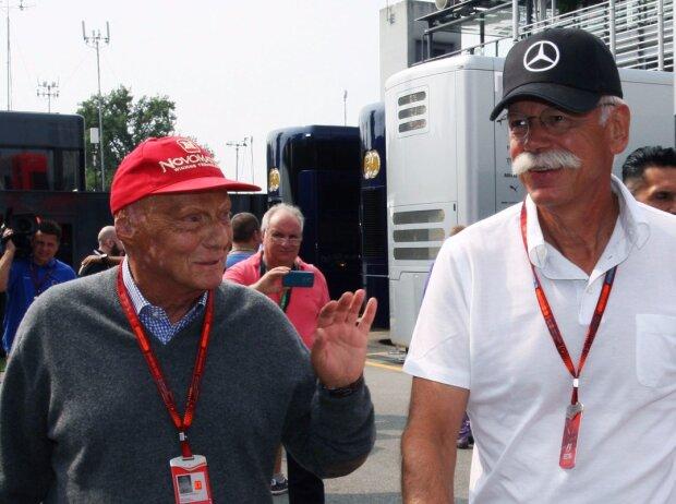 Niki Lauda, Dieter Zetsche