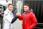 Marco Wittmann (RMG-BMW) und Edoardo Mortara (Abt-Audi-Sportsline)
