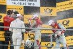 Miguel Molina (Abt-Audi), Marco Wittmann (RMG-BMW) und Edoardo Mortara (Abt-Audi-Sportsline)