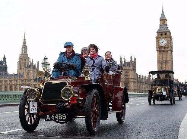 """Bonhams London to Brighton Veteran Car Run supported by Hiscox"": Mercedes Simplex"