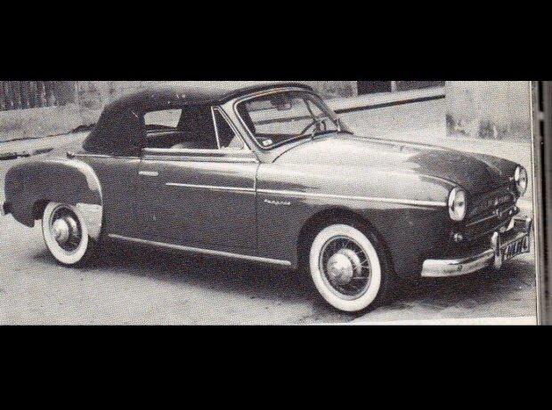 Renault Fregate Cabriolet