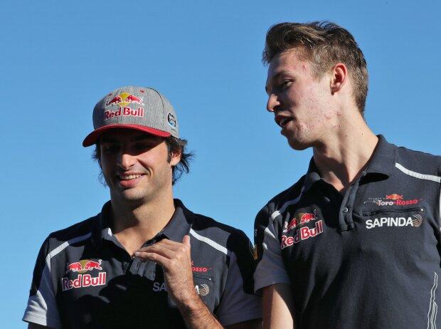 Carlos Sainz, Daniil Kwjat