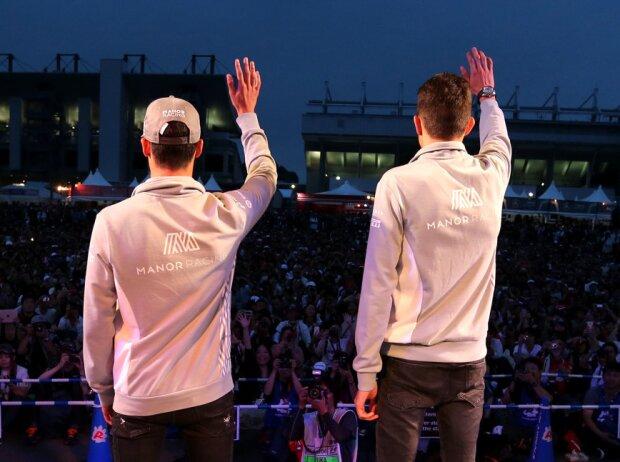 Pascal Wehrlein und Esteban Ocon