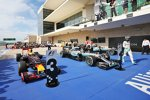 Daniel Ricciardo (Red Bull), Lewis Hamilton (Mercedes) und Nico Rosberg (Mercedes)