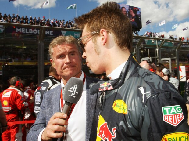 David Coulthard, Daniil Kwjat