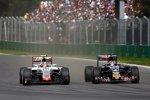 Daniil Kwjat (Toro Rosso) und Esteban Gutierrez (Haas)