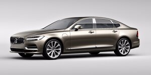 Volvos S90 Limousine in China lang oder luxuriös