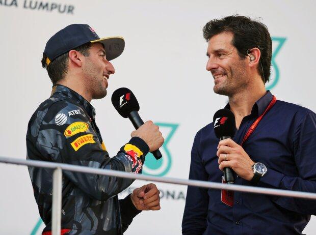 Daniel Ricciardo, Mark Webber