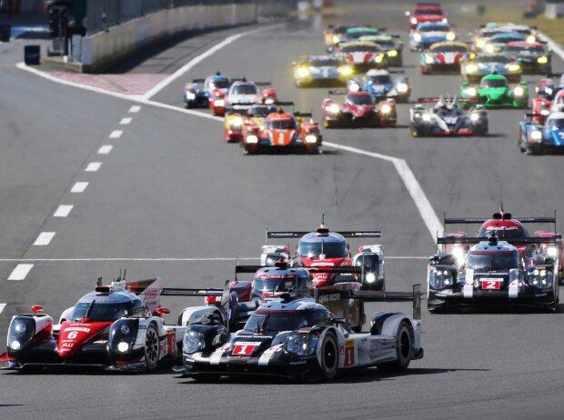 Stephane Sarrazin, Mike Conway, Kamui Kobayashi, Timo Bernhard, Mark Webber, Brendon Hartley