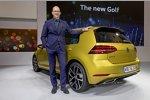 VW Golf 7 Facelift 2017 - Vorstellung in Wolfsburg: Klaus Bischoff, Leiter Volkswagen Design