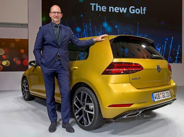 VW Golf 7 Facelift 2017 mit Klaus Bischoff, Leiter Volkswagen Design