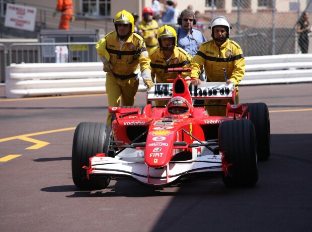 Michael Schumacher, Rascasse in Monaco 2006