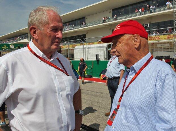 Helmut Marko, Niki Lauda