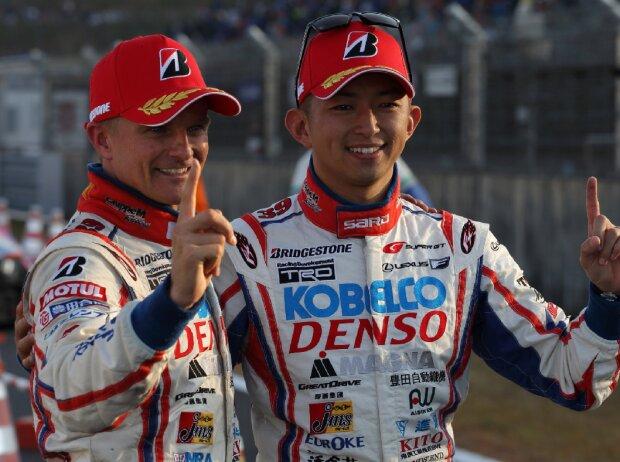 Heikki Kovalainen, Kohei Hirate