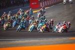 Moto3 Start in Valencia