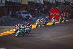 Moto3 Rennen in Valencia