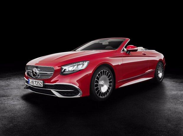 mercedes-maybach s-klasse cabriolet: luftiger luxus