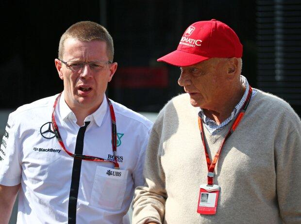 Andy Cowell, Niki Lauda