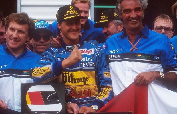 Michael Schumacher Flavio Briatore  ~Michael Schumacher und Flavio Briatore ~