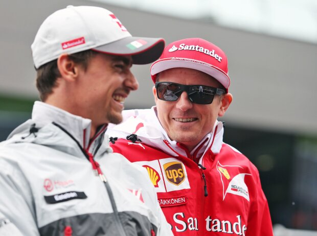 Esteban Gutierrez, Kimi Räikkönen