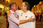 David Coulthard und Mansour Ojjeh