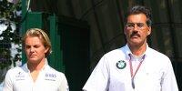 Mario Theissen, Nico Rosberg