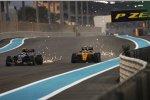 Carlos Sainz (Toro Rosso) und Jolyon Palmer (Renault)
