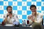 Nico Rosberg und Toto Wolff