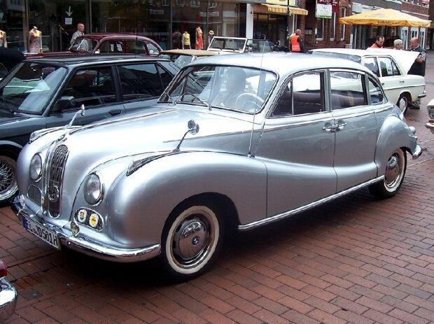 1957 BMW 501 Barockengel - Oldtimertreffen Meppen 07.06.2009