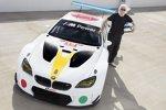 Das neue BMW Art-Car: Der M6 GTLM mit Design von John Baldessari