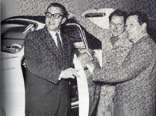 Hans Glas, Andreas Glas und Karl Dompert (von links)