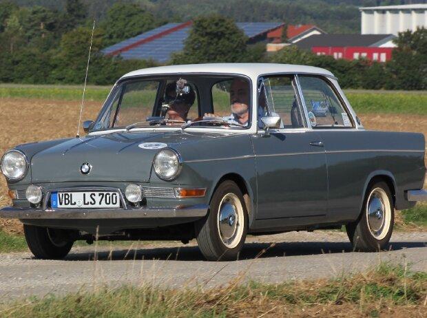BMW 700 LS, luftgekühlter Zweizylinder-Viertaktmotor, 697 ccm