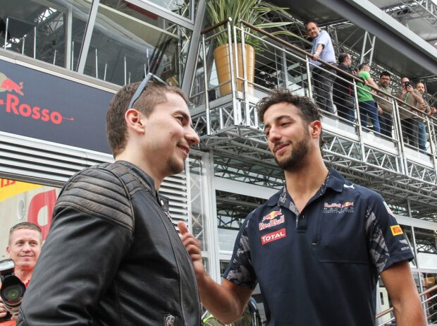 Jorge Lorenzo, Daniel Ricciardo
