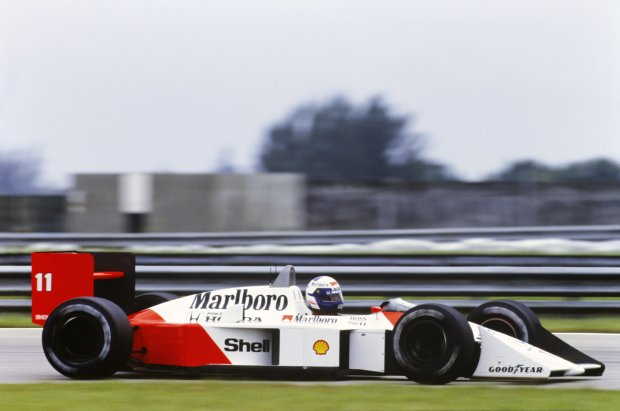 Alain Prost Nicolas Prost McLaren McLaren Honda F1 ~Alain Prost und Nicolas Prost ~