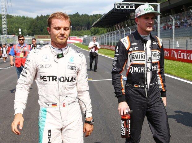 Nico Rosberg, Nico Hülkenberg
