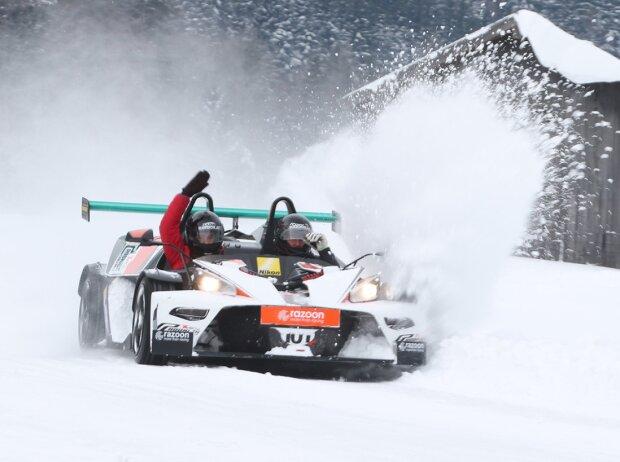 Christian Nimmervoll beim KTM-X-Bow-Wintercup in Saalfelden