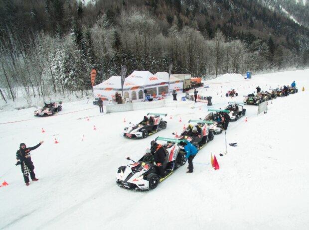 KTM-X-Bow-Wintercup in Saalfelden